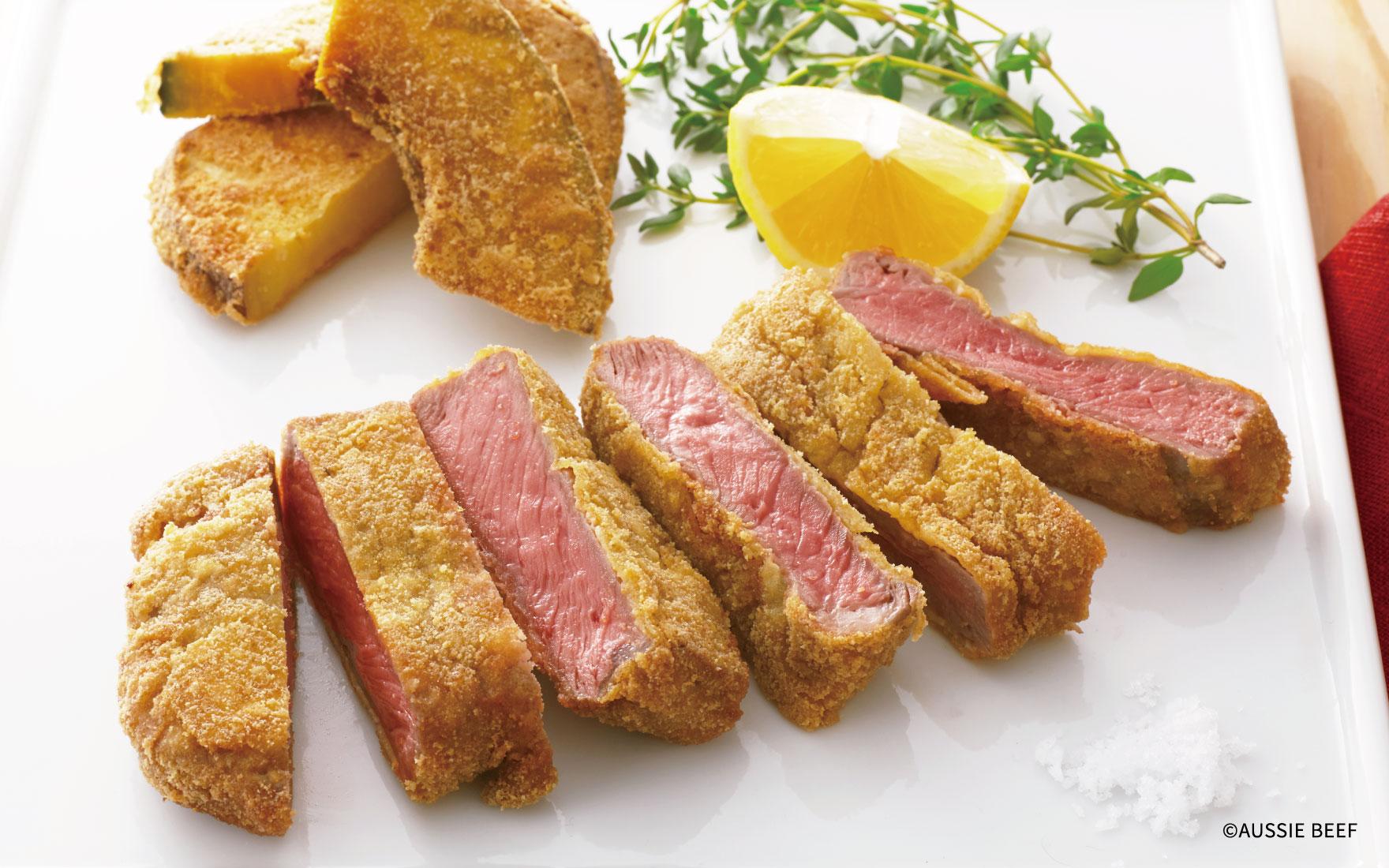 高野豆腐でつくるビーフカツレツ